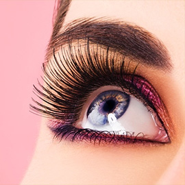 Mink Eyelash Extensions with Blink